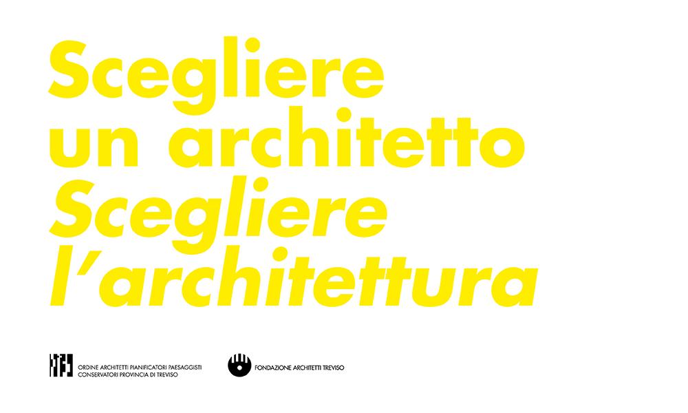 Scegliere un architetto